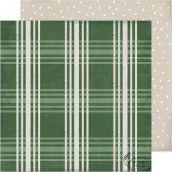 ACHS Winter Wonderland Double-Sided Cardstock 12X12 Fresh Pine