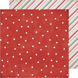 ACHS Winter Wonderland Double-Sided Cardstock 12X12 Falalala