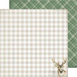 ACHS Winter Wonderland Double-Sided Cardstock 12X12 Dasher