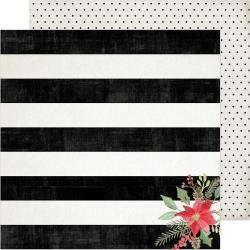ACHS Winter Wonderland Double-Sided Cardstock 12X12 'tis The Season