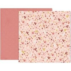 Pink Paislee Again & Again Double-Sided Cardstock 12X12 #12