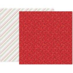 Pink Paislee Together For Christmas Double-Sided Cardstock 12X12 #6