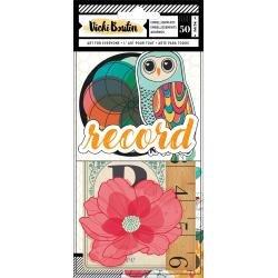 AC Vicki Boutin Wildflower & Honey Ephemera Die-Cuts 50/Pkg Cardstock Icons