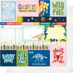 AC Shimelle Field Trip Double-Sided Cardstock 12X12 Hear Me Roar