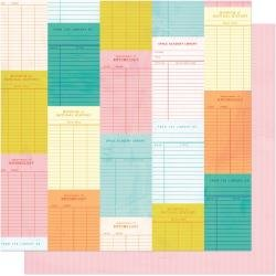 AC Shimelle Field Trip Double-Sided Cardstock 12X12 Check It