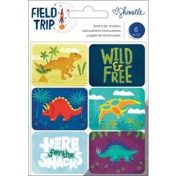 AC Shimelle Field Trip Lenticular Stickers Dinosaurs