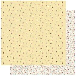 Authentique Confection Double-Sided Cardstock 12X12 #3 Ice Cream Cones