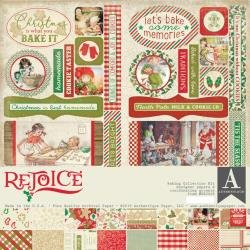 Authentique Collection Kit 12X12 Rejoice, Holiday Baking Theme