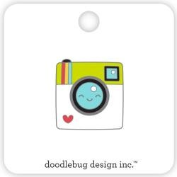 Doodlebug Collectible Enamel Pin Say Cheese