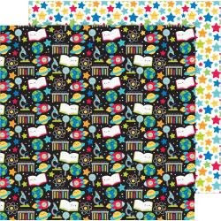 Doodlebug School Days Double-Sided Cardstock 12X12 Scientific