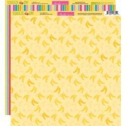 Bella Blvd. Squeeze The Day Double-Sided Cardstock 12X12 Bananas For You