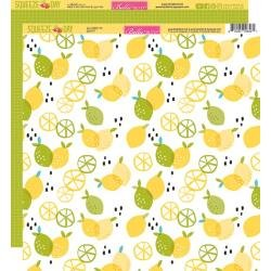 Bella Blvd. Squeeze The Day Double-Sided Cardstock 12X12 Zesty