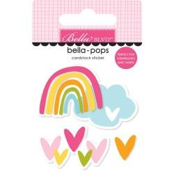 Bella Blvd Squeeze The Day Bella-Pops 3D Stickers Follow The Rainbow