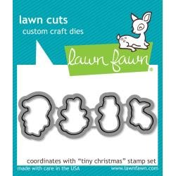 Lawn Cuts Custom Craft Die Tiny Christmas