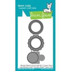 Lawn Cuts Custom Craft Die Reveal Wheel Circle Add-On