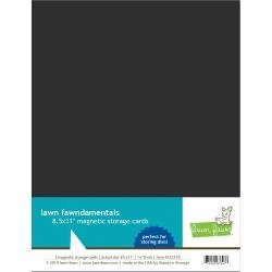 Lawn Fawn Magnetic Storage Cards 8.5X11 5/Pkg
