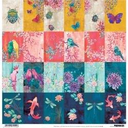 Alexandra Renke Wildness Of Nature Design Paper 12X12 Autumn Insect Dance