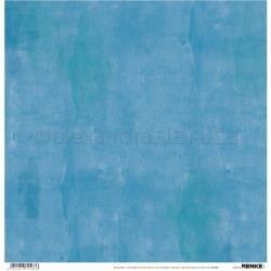 Alexandra Renke Wildness Of Nature Design Paper 12X12 Autumn Wild Light Blue