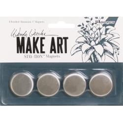 Wendy Vecchi MAKE ART Stay-tion 1 Magnets 4/Pkg