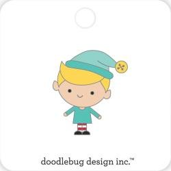 Doodlebug Collectible Enamel Pin Buddy, Christmas Magic