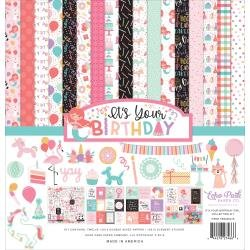 Echo Park Collection Kit 12X12 It's Your Birthday Girl