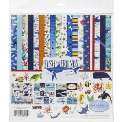 Carta Bella Collection Kit 12X12 Fish Are Friends