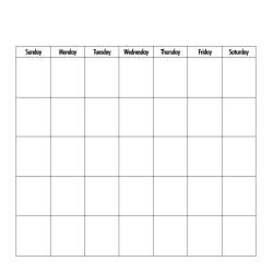 Authentique 100lb Single-Sided Cardstock 12X12 Single Sheet Calendar Collection, Blank