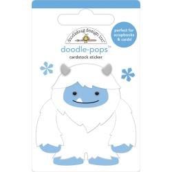 Doodlebug Doodle-Pops 3D Stickers Harry, Winter Wonderland