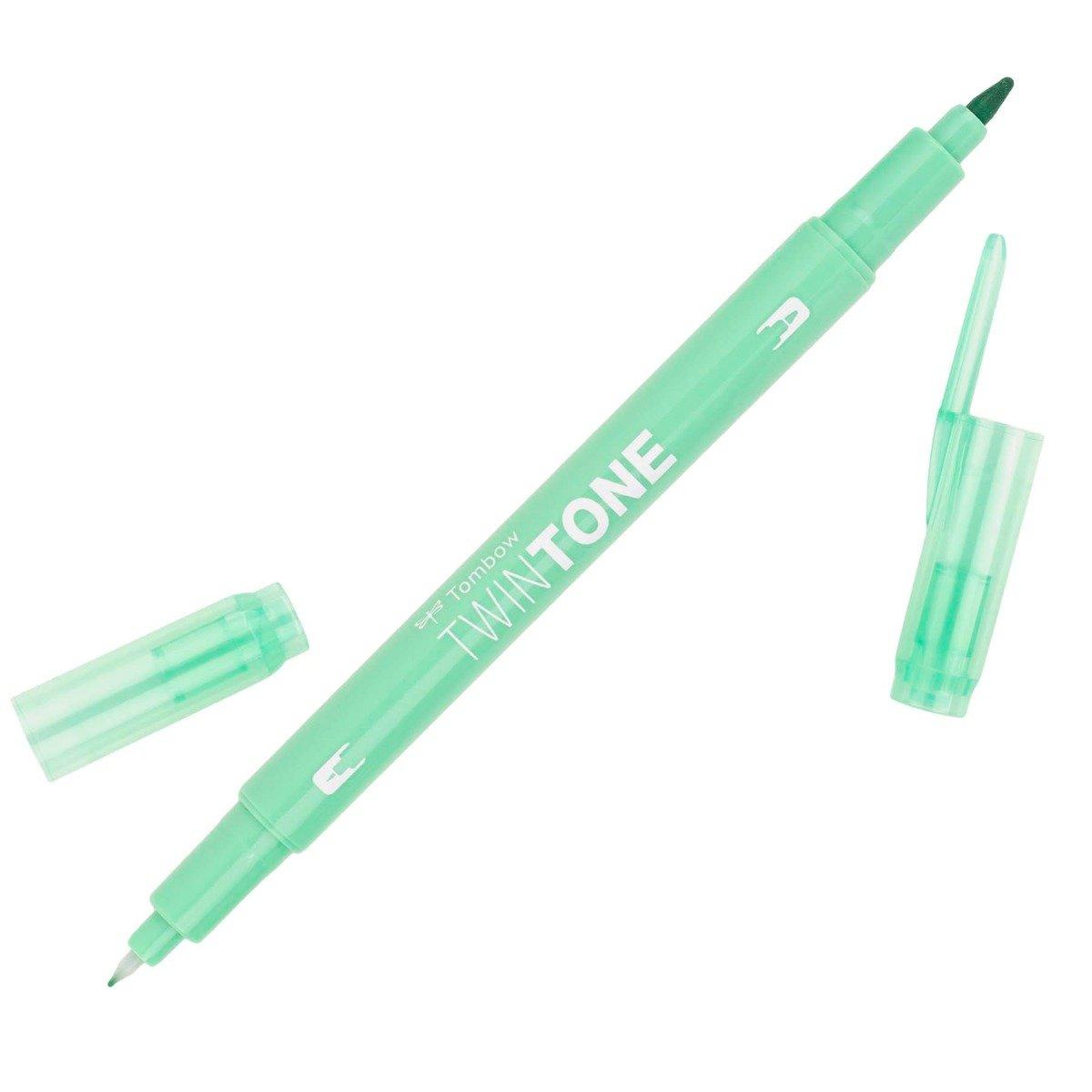 Tombow TwinTone Marker TT86 Mint Green