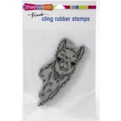 Stampendous Cling Stamp Llama Look