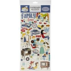 Carta Bella Family Night Chipboard 6X13 Accents