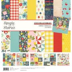 Simple Stories Collection Kit 12X12 Summer Farmhouse