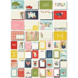 Simple Stories Sn@p! Card Pack 72/Pkg Summer Farmhouse