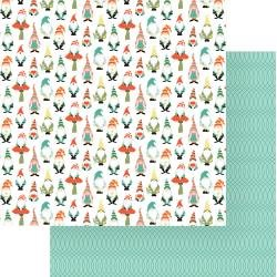 Photo Play Tulla & Norbert Double-Sided Cardstock 12X12 Gnomies