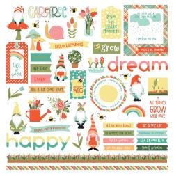 PhotoPlay Tulla & Norbert Stickers 12X12 Elements