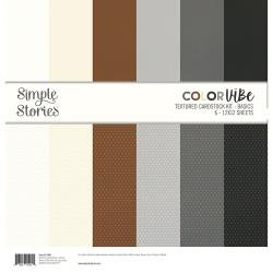 Simple Stories Color Vibe Double-Sided Paper Pack 6/Pkg Basics
