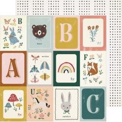 Crate Paper  Magical Forest Double-Sided Cardstock 12X12 Willow