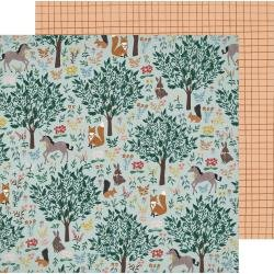 Crate Paper  Magical Forest Double-Sided Cardstock 12X12 Imaginary