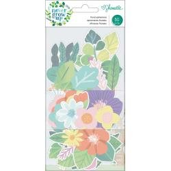 AC Shimelle Never Grow Up Ephemera Cardstock Die-Cuts 50/Pkg Floral