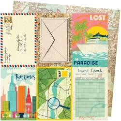 AC Vicki Boutin Let's Wander Double-Sided Cardstock 12X12 Lost In Paradise