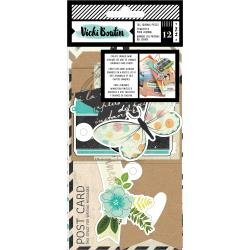 AC Vicki Boutin Let's Wander Tags & Journaling Pieces