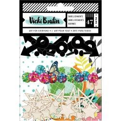 AC Vicki Boutin Let's Wander Embellishment Pack