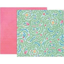 Pink Paislee Paige Evans Bloom Street Double-Sided Cardstock 12X12 #5