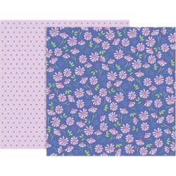 Pink Paislee Paige Evans Bloom Street Double-Sided Cardstock 12X12 #15