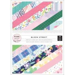 Pink Paislee Single-Sided Paper Pad 6X8 36/Pkg Paige Evans Bloom Street