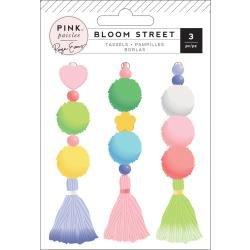 Pink Paislee Paige Evans Bloom Street Tassels 3/Pkg