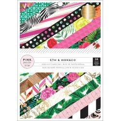 Pink Paislee Single-Sided Paper Pad 6X8 36/Pkg 5th & Monaco