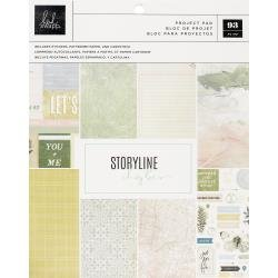 Heidi Swapp Storyline Chapters Project Pad 7.5X9.5 The Scrapbooker
