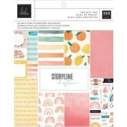 Heidi Swapp Storyline Chapters Project Pad 7.5X9.5 The Journaler