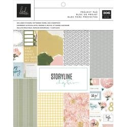 Heidi Swapp Storyline Chapters Project Pad 7.5X9.5 The Planner